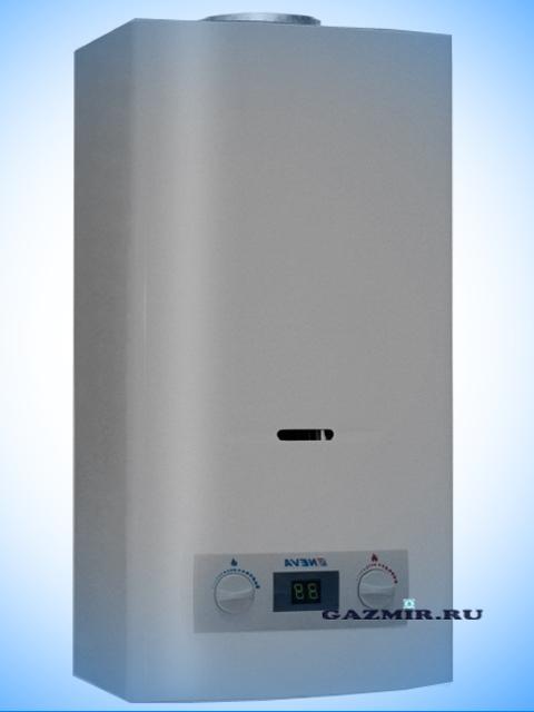 Газовая колонка НЕВА 4511 ( NEVA-4511 ) цвет серебристый, 11 л/мин, дымоход 122 мм, вода/газ 1/2 дюйма. Город Костанай. Цена по запросу