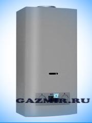 Купить Газовая колонка НЕВА 4511 ( NEVA-4511 ) цвет серебристый, 11 л/мин, дымоход 122 мм, вода/газ 1/2 дюйма в Костанай