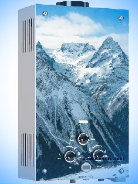 Газовая колонка VEKTOR LUX ECO 20-2 (горы зимой). Город Челябинск. Цена по запросу