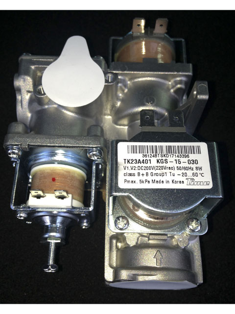 Купить Газовый клапан котла NAVIEN Deluxe 30010310A (все модели NAVIEN DELUXE) в Костанай