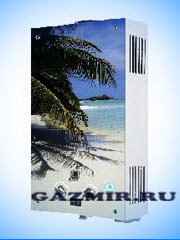Купить Газовая колонка ЛАРГАЗ декор 10 л. ПАЛЬМА в Челябинск