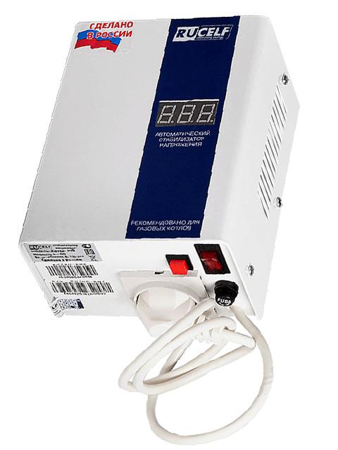 Стабилизатор напряжения КОТЕЛ-400, мощность 400 Вт (666 ВА), молниезащита, производство Россия. Город Костанай. Цена 3300 руб