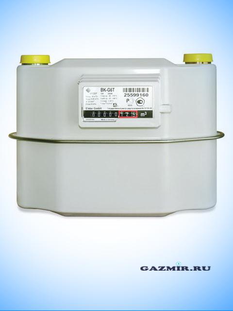 газовый счетчик с термокорректором g6