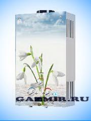 Купить Газовая колонка ЛАРГАЗ декор 10 л. ЦВЕТЫ в Костанай