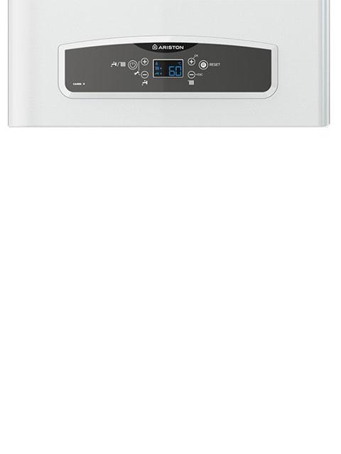 Газовый котел настенный ARISTON CARES X 24 FF NG, 24 кВт, закрытая камера, двухконтурный, Италия. Город Челябинск. Цена 32000 руб