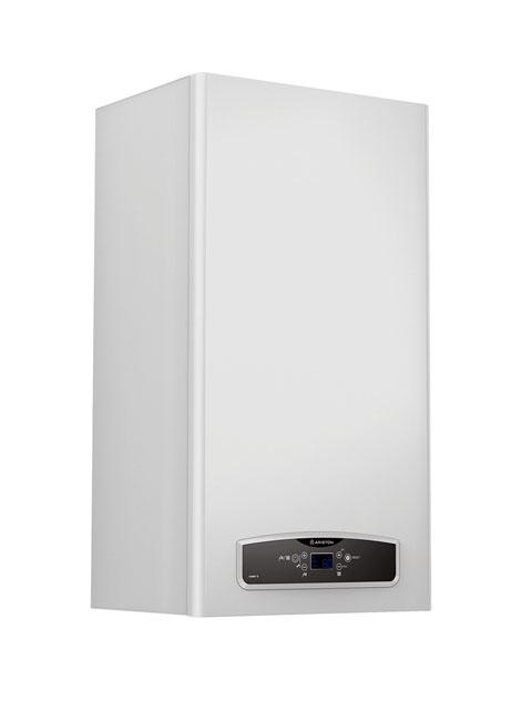 Купить Газовый котел настенный ARISTON CARES X 24 FF NG, 24 кВт, закрытая камера, двухконтурный, Италия в Березники
