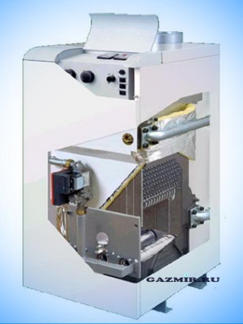 Газовый котел напольный ПРОТЕРМ Медведь 40КLOМ  электророзжиг,чугунный теплообменник,возм.бойлера. Город Костанай. Цена 66400 руб