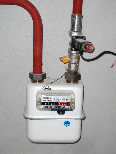 Установка газового счетчика для дома. Город Челябинск. Цена 1200 руб