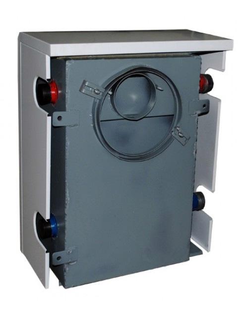 Газовый напольный котел Мимакс КСГ(П) - 7, парапетный, до 70 кв.м, автоматика SIT, пьезорозжиг, дымоход в стену. Город Челябинск. Цена по запросу