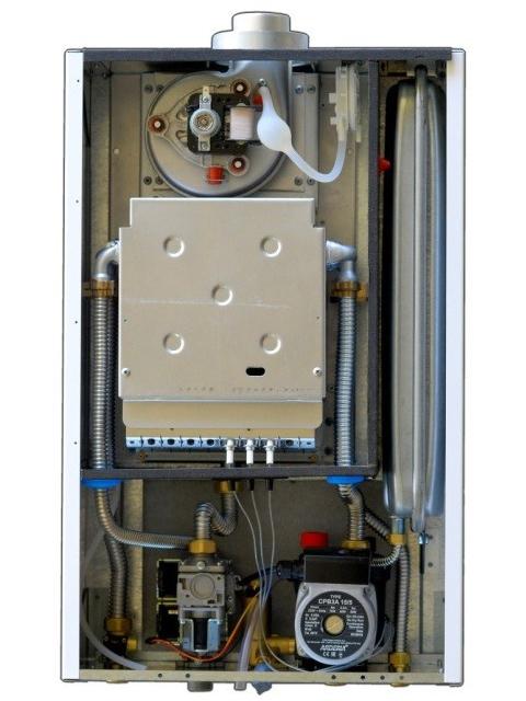 Газовый котел настенный ARDERIA B18, 18 кВт, закрытая камера, отопление до 180 кв.м и горячая вода, производство РФ. Город Челябинск. Цена по запросу