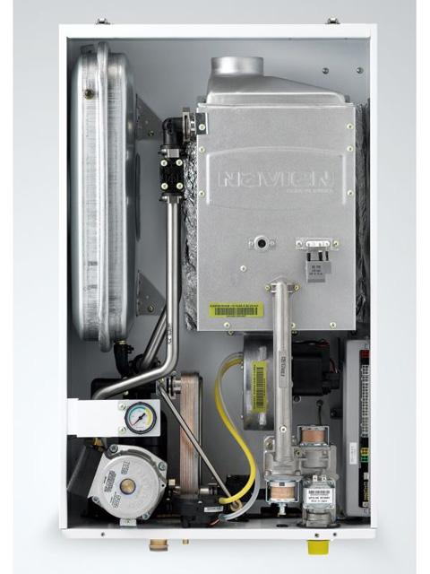 Газовый котел настенный Навьен Navien Deluxe-24k COAXIAL White, 24 кВт, закрытая камера, двухконтурный. Город Челябинск. Цена 28800 руб