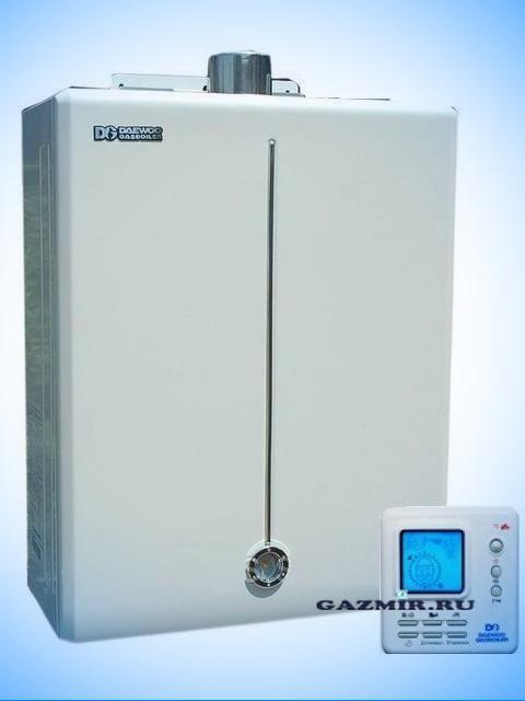 Газовый котел настенный DAEWOO DGB-160MSC (EUR-T3/18,6 кВт). Город Челябинск. Цена 30500 руб