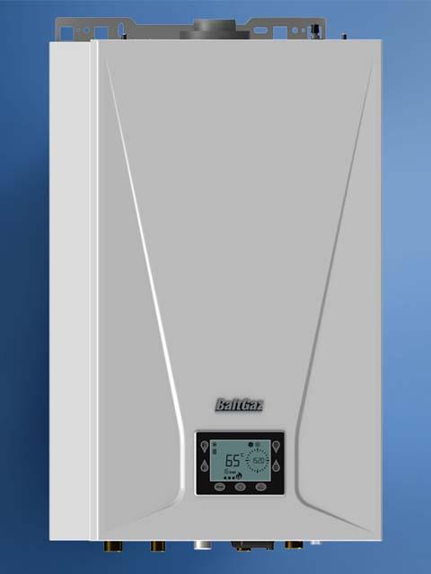 Купить Газовый котел настенный NEVA BaltGaz Turbo E 24, 24 кВт, закрытая камера, двухконтурный в Челябинск
