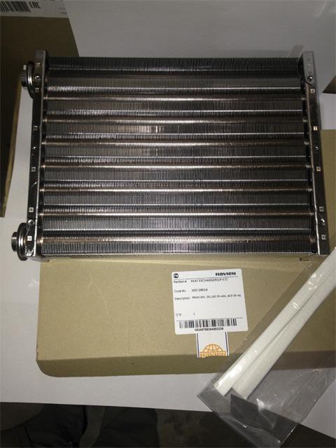 Основной теплообменник navien уфа Кожухотрубный конденсатор Alfa Laval CRF162-5-XS 2P Бийск