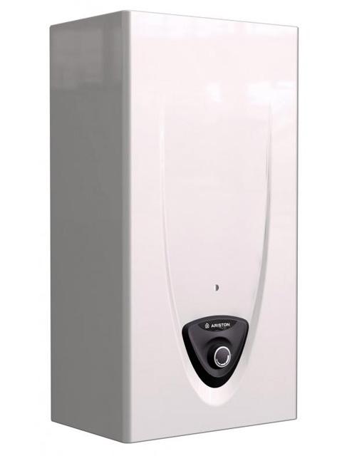 Газовая колонка ARISTON FAST EVO C 11, 11 л/мин, розжиг от сети (220В), дымоход 110 мм, вода/газ 1/2 дюйма, поддержка температуры воды. Италия. Город Челябинск. Цена по запросу