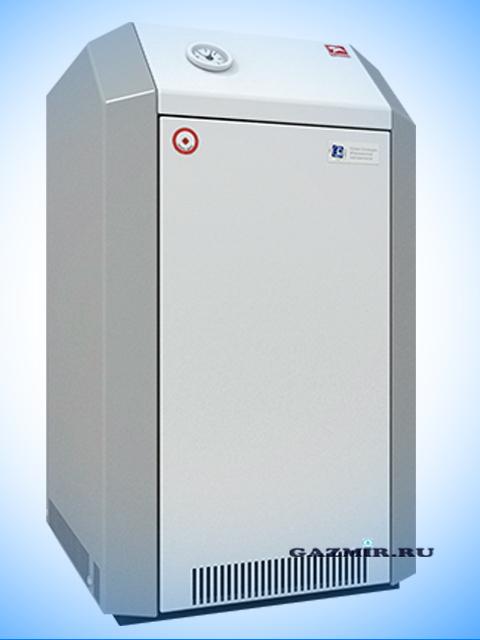 Газовый котел напольный Лемакс Премиум 50, до 500 кв.м, автоматика SIT, пьезорозжиг, дымоход 140 мм. Город Челябинск. Цена по запросу