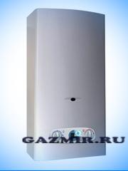 Купить Газовая колонка НЕВА ЛЮКС 5611 ( NEVALUX-5611 ), цвет серебро, 14 л/мин, дымоход 140 мм, вода/газ 1/2 дюйма в Челябинск