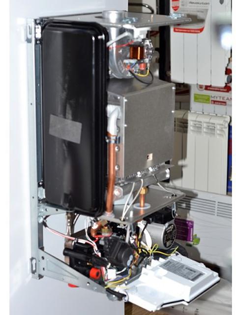 Газовый котел настенный ПРОТЕРМ Ягуар 11JTV, Чехия, 12 кВт, закрытая камера сгорания, двухконтурный. Город Челябинск. Цена 31400 руб