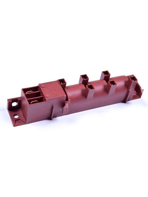 Купить Блок эл.розжига, 6-х канальный многоискровой для газовых плит Гефест, Дарина. (GDR 24600, WAC-T6) в Челябинск
