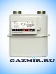 Купить Газовый счетчик ЭЛЬСТЕР ВК G-4 (левый)  в Южноуральск