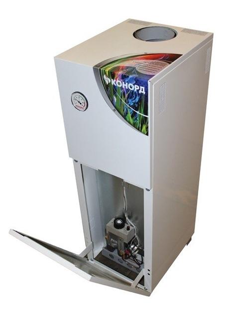 Газовый напольный котел Конорд Ксц-Г-30S, до 300 кв.м, автоматика SIT, пьезорозжиг, дымоход 146 мм. Город Челябинск. Цена 26400 руб