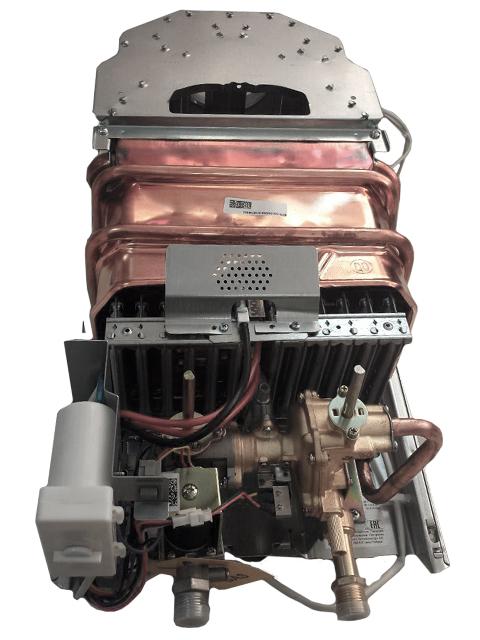 Газовая колонка BOSCH W10КB, розжиг от батареек, 10 л/мин, дымоход 112 мм, вода-газ 1/2 дюйма. Город Учалы. Цена 12300 руб