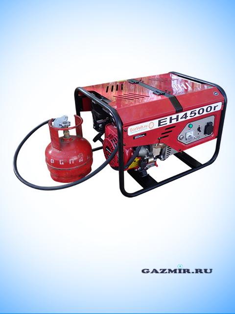 Генератор газовый ЕН4500r. Город Челябинск. Цена по запросу