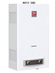 Купить Газовая колонка ЛЕМАКС ЕВРО 20, 10 л/мин, дымоход 110 мм, вода/газ 1/2 дюйма, розжиг от батареек/электросети в Челябинск