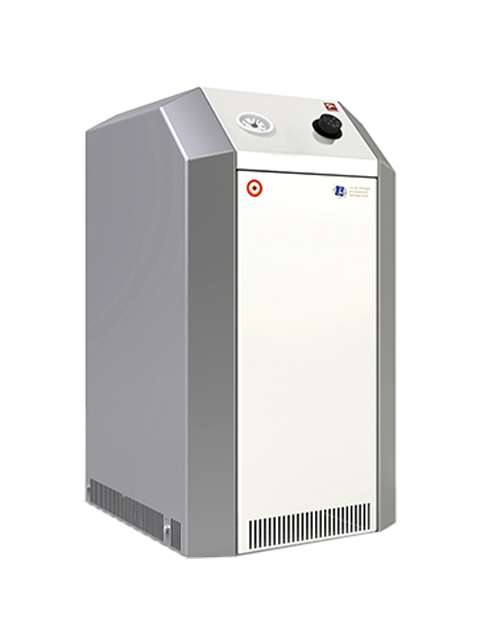 Купить Газовый котел напольный Лемакс Премиум 12.5N(B), до 125 кв.м, автоматика SIT, пьезорозжиг, дымоход 130 мм, возм.комнатный термостат, турбонасадка, горячая вода в Челябинск