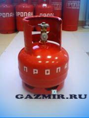 Купить Баллон газовый  5л (вентиль) в Челябинск