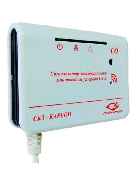 Купить СЗ-2 – сигнализатор загазованности СO (угарный газ газ) – 20/100 мг/куб.м в Кунашак