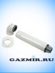 Купить Комплект дымоотвода стандартный 60/100 Protherm 750 мм в Челябинск