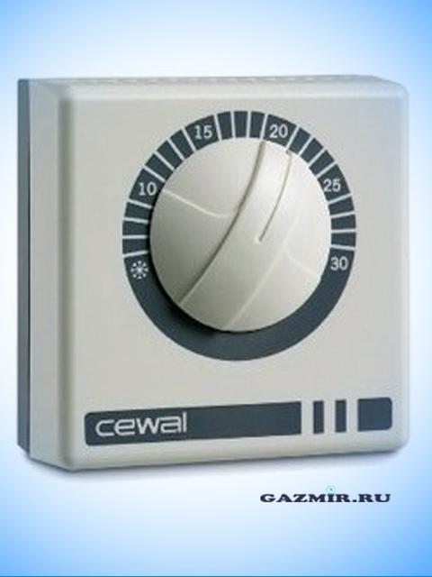 Комнатный термостат CEWAL RQ 10. Город Челябинск. Цена 900 руб