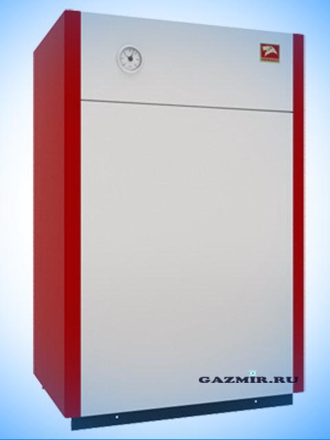 Газовый котел напольный Лемакс Лидер-40, до 400 кв.м, автоматика SIT, пьезорозжиг, дымоход 140 мм, чугунный теплообменник. Город Челябинск. Цена 60300 руб