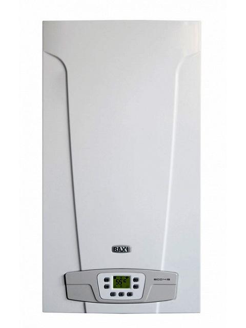 Купить Газовый котел настенный BAXI (БАКСИ) ECO4s 24 ATMO, 24 кВт, открытая камера, двухконтурный, Италия  в Челябинск