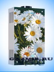 Купить Газовая колонка VEKTOR LUX ECO 20-2 (Ромашки) в Каменск-Уральский