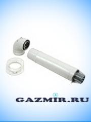 Купить Комплект коаксиальный  60/100  L-7500 мм Master Gaz в Челябинск