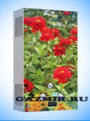 Купить Газовая колонка VEKTOR LUX ECO 20-2 (Цветы) в Челябинск