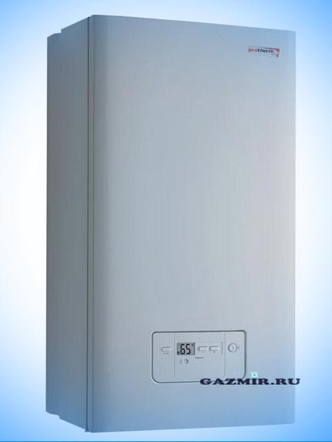 Газовый котел настенный ПРОТЕРМ Гепард 23MOV, Чехия, 23 кВт, открытая камера сгорания, двухконтурный. Город Челябинск. Цена 38900 руб