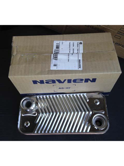 Купить Теплообменник ГВС 24 кВт Navien 30004997A (PAS201STS_001) в Челябинск