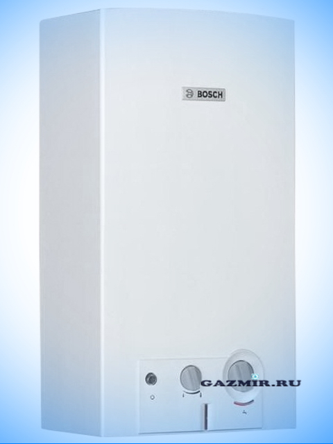 Газовая колонка BOSCH WR10-2 B23, розжиг от батареек, 10 л/мин, дымоход 112 мм, вода-газ 3/4 дюйма, с модуляцией. Город Челябинск. Цена 14000 руб