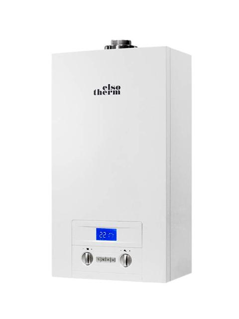 Купить Газовый котел настенный Elsotherm T-116, 16 кВт, закрытая камера, двухконтурный в Костанай
