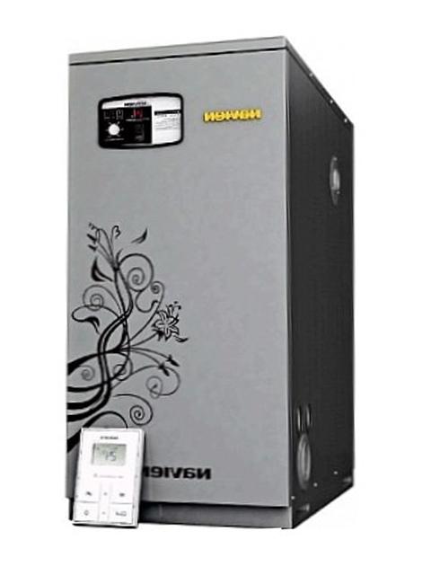 Купить Котел газовый напольный 2-х контурный NAVIEN GST-40 KN нержавейка в Костанай