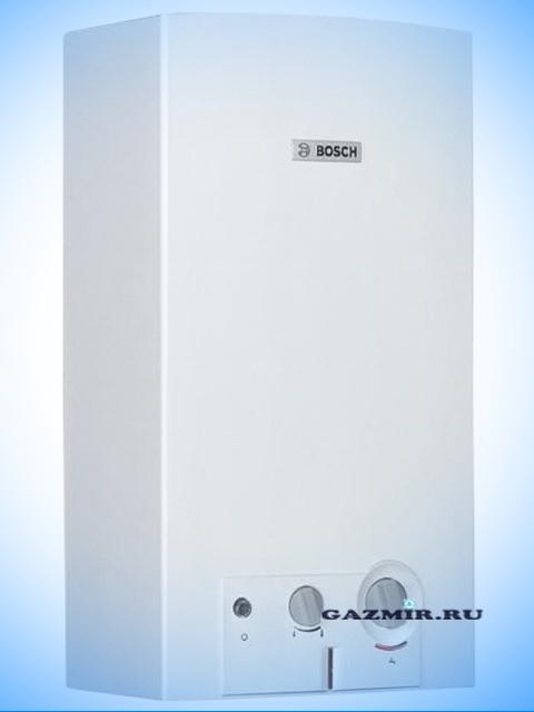 Газовая колонка BOSCH WR15-2 B23, розжиг от батареек, 15 л/мин, дымоход 132 мм, вода-газ 3/4 дюйма, с модуляцией. Город Челябинск. Цена 17800 руб