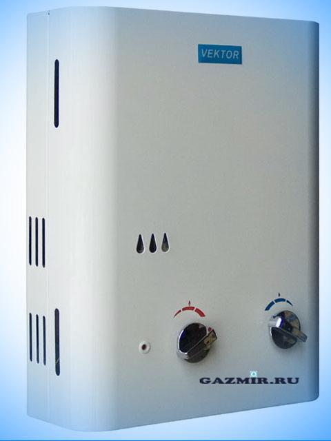 Газовая колонка VEKTOR 11-N (белый). Город Южноуральск. Цена по запросу