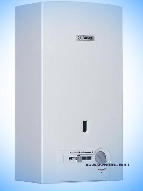 Газовая колонка BOSCH WR10-2 P23, розжиг от пьезоэлемента (фитиль), 10 л/мин, дымоход 112 мм, вода-газ 3/4 дюйма, с модуляцией. Город Костанай. Цена 12250 руб