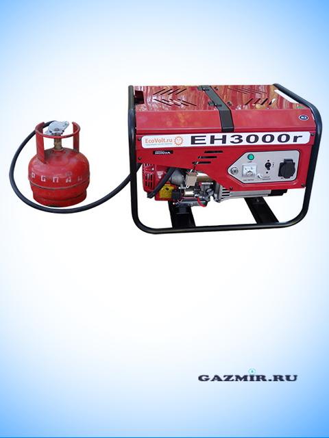 Генератор газовый EH3000r. Город Челябинск. Цена по запросу