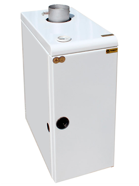 Котел стальной газовый КС-Г-12.5 ГЕФЕСТ, только для отопления, до 120 кв.м., автоматика SIT, дымоход 130 мм. Город Челябинск. Цена 14370 руб