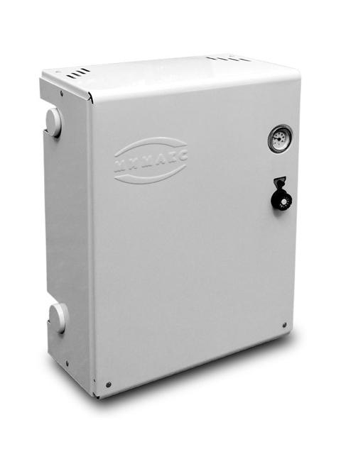 Купить Газовый напольный котел Мимакс КСГ(П) - 12, парапетный, до 120 кв.м, автоматика SIT, пьезорозжиг, дымоход в стену в Челябинск