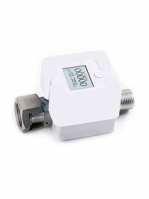 Купить Газовый счетчик ЭЛЕХАНТ 1,8 резьба 1/2 для газовой плиты электронный компактный в Костанай